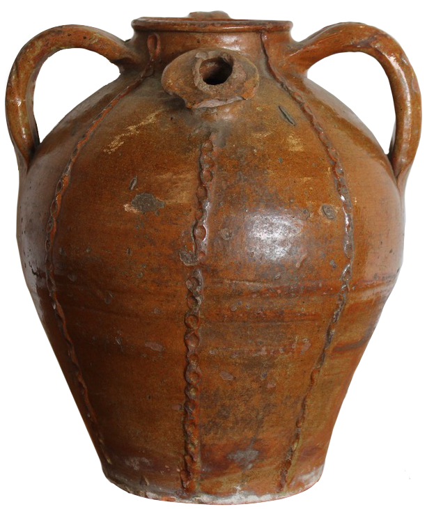 19th Cent French Olive Oil Jar