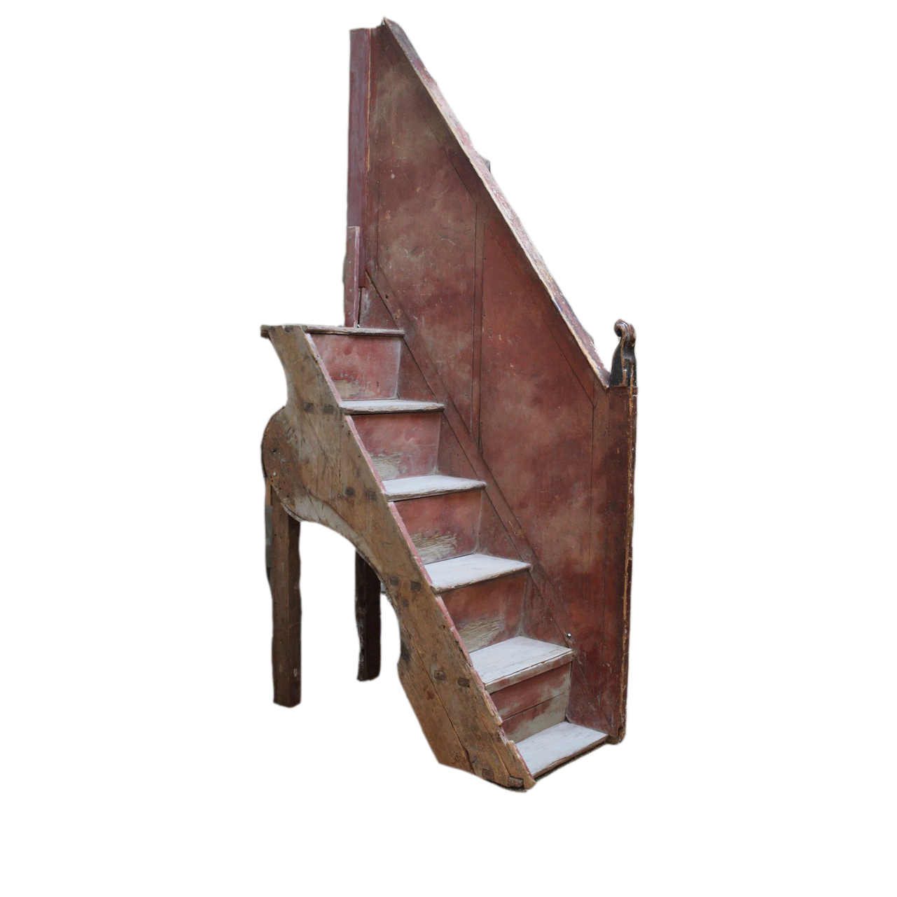 18th Cent Italian Painted Staircase