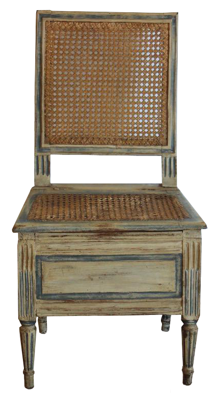 18th Century French Louis XVI Commode Chair