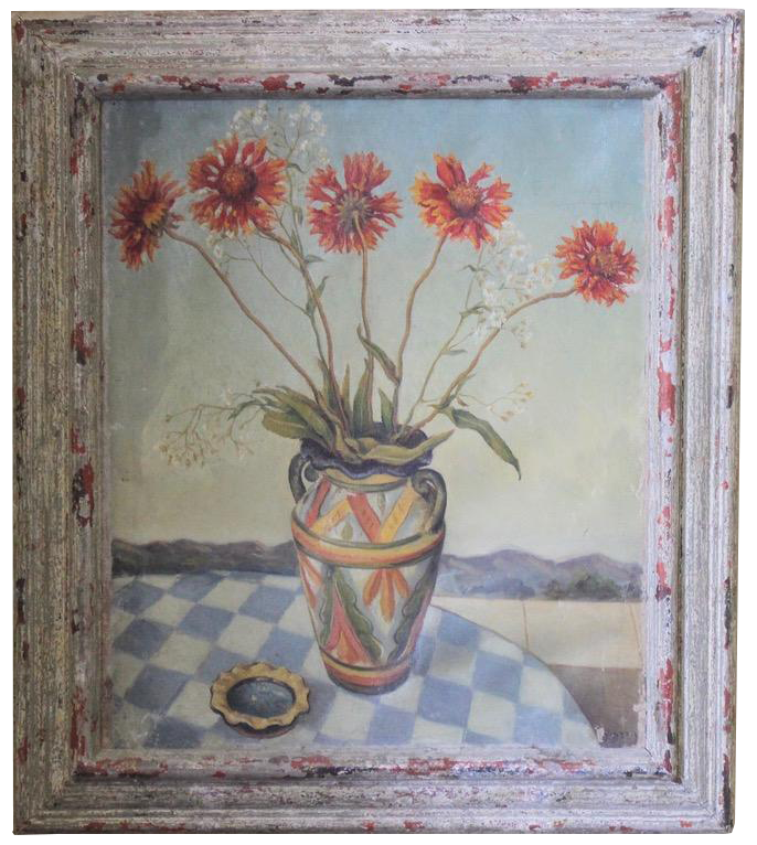 1930s / 40s French Oil on Canvas
