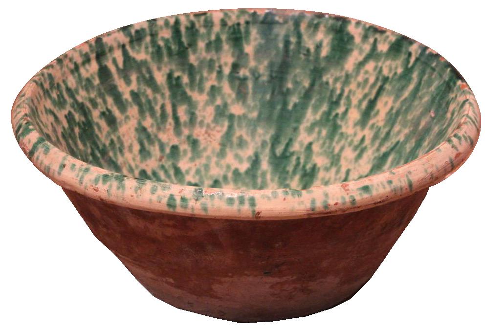 19th Century Spanish Kitchen Bowl