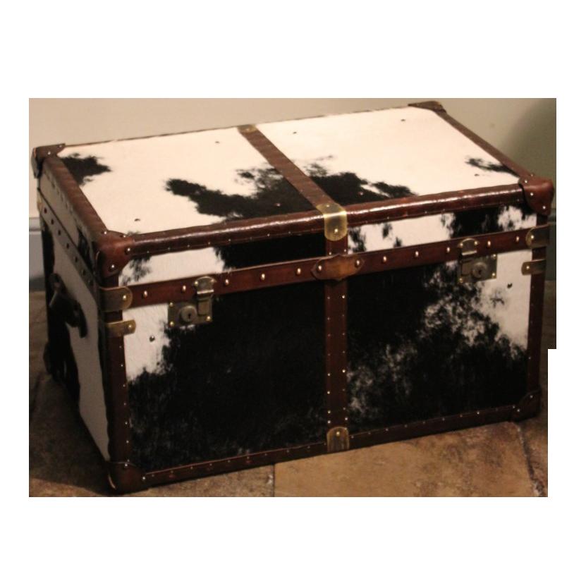 Bespoke Cowhide Trunk / Coffee Table