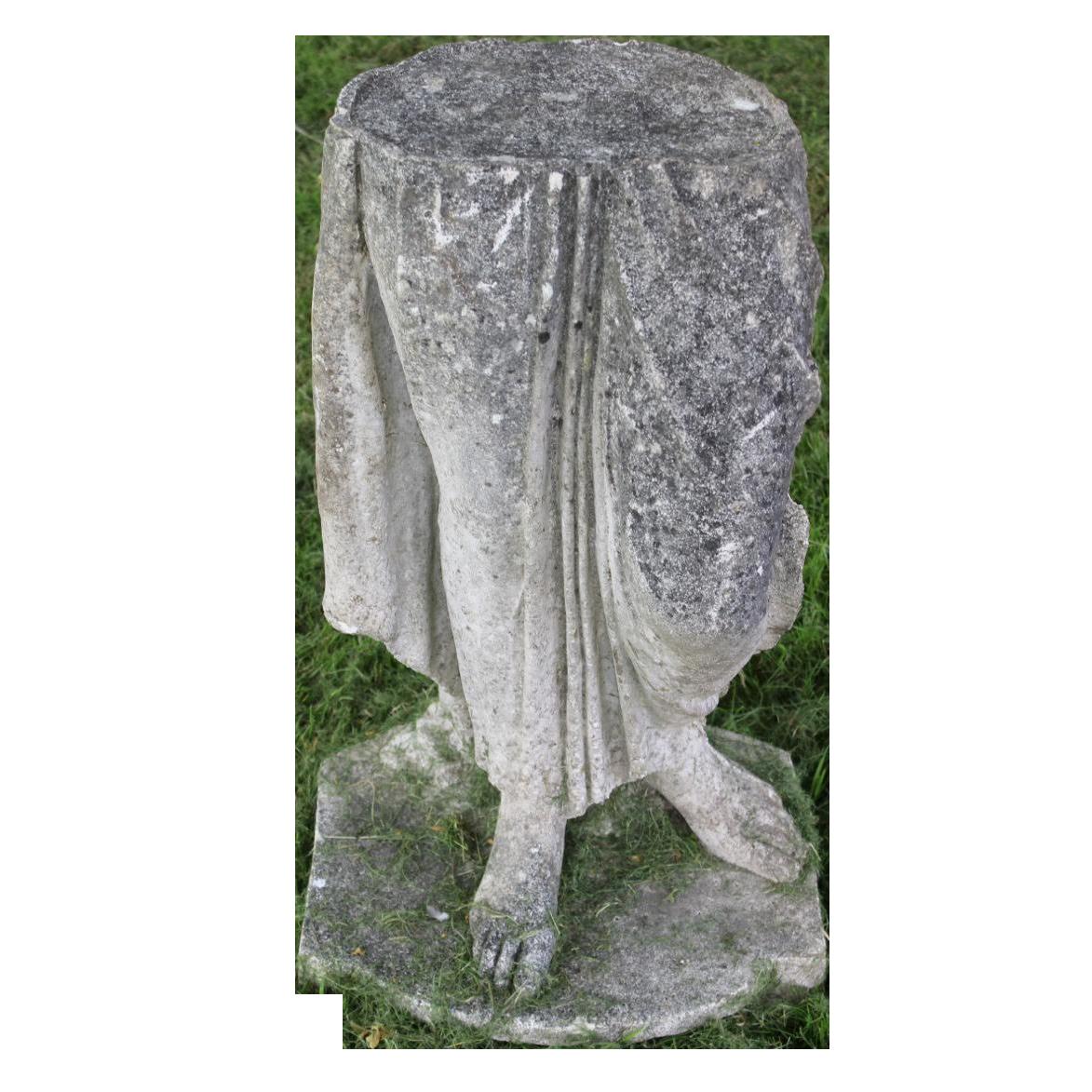 Charming c1950s Italian Composite Stone Statue