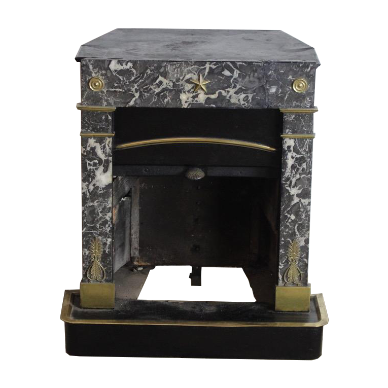 Early 19th cent French Directoire Small Fireplace