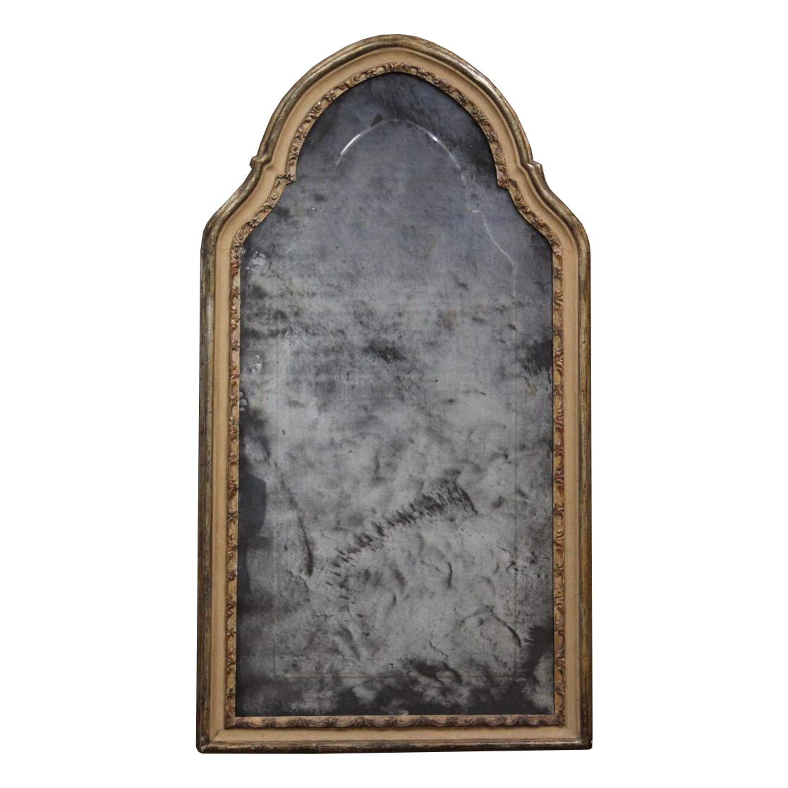 Early 19th century Large Italian Painted Mirror