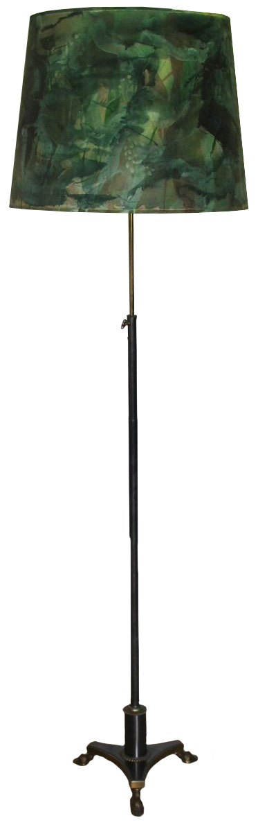 Fine Mid 20th Century French Floor Lamp attributed to Maison Jansen