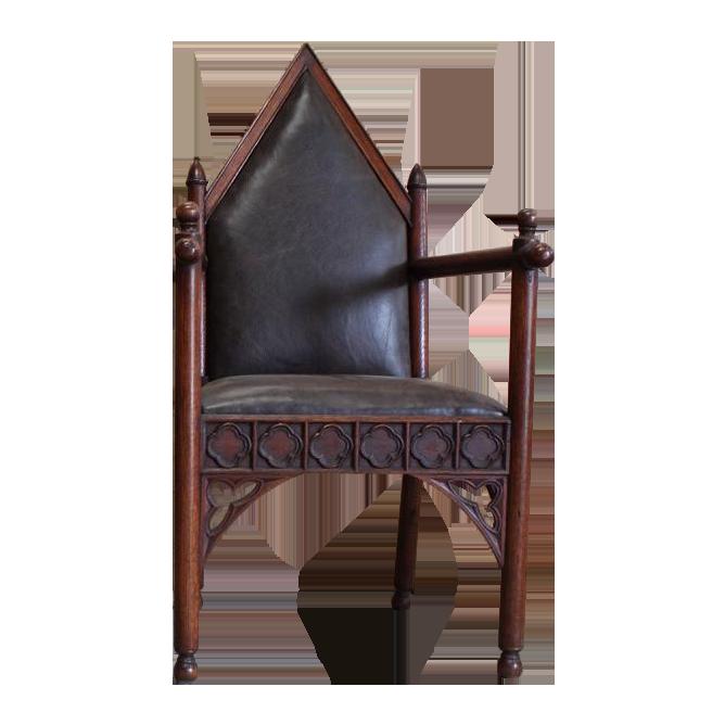 Fine Pair of 19th century English Armchairs