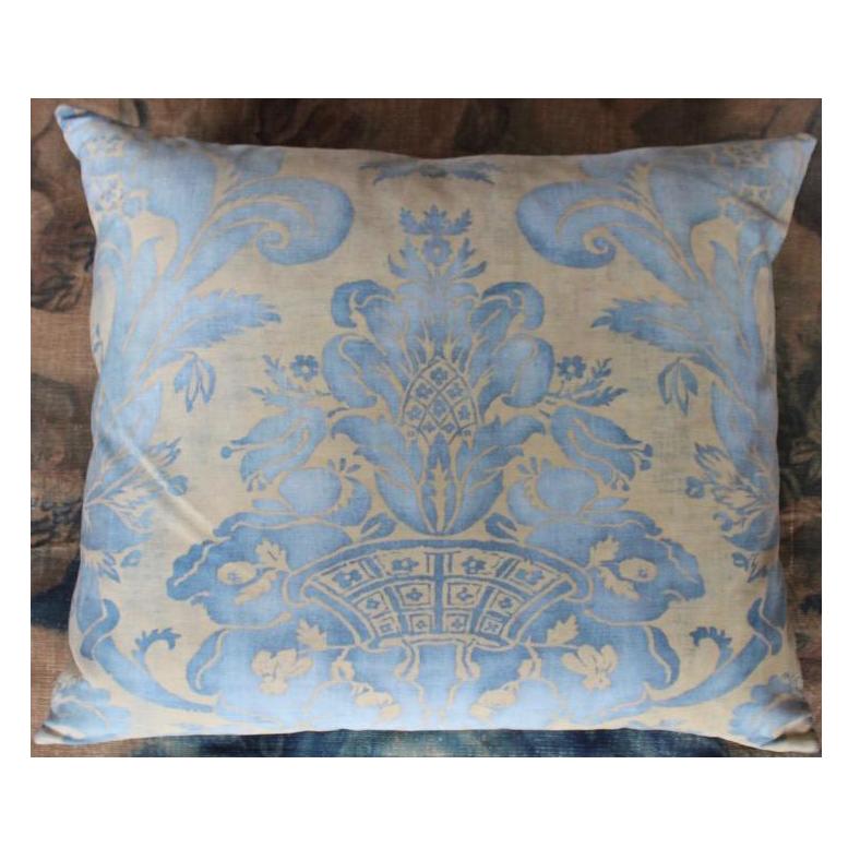 Fortuny 'Olympia' Silk Cushion