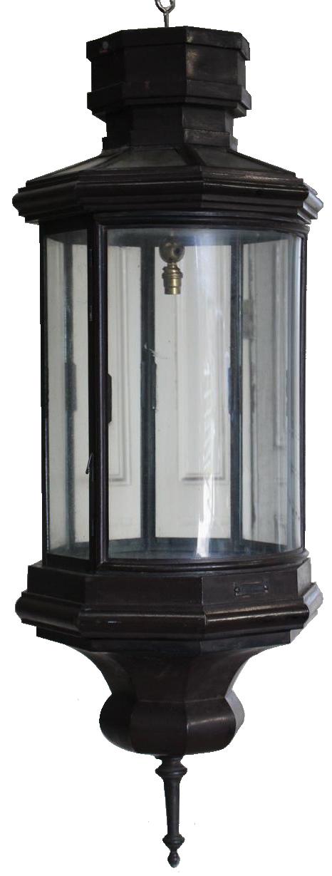 Large Late 19th Century English Lantern