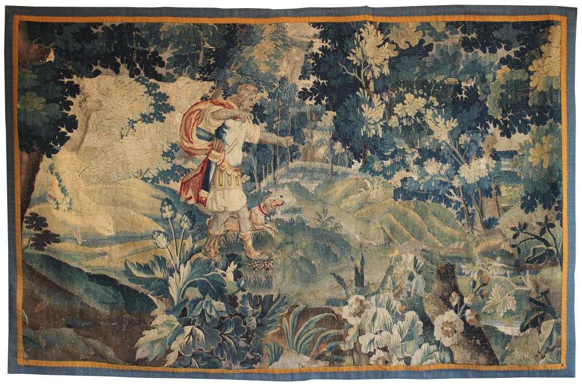 Late 17th/ Early 18th Century Aubusson Tapestry