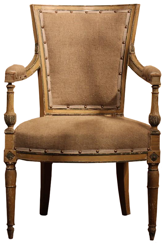 Late 18th Century French Directoire Period Fauteuil