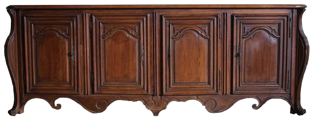 Outstanding Large 18th Century French Oak Enfilade