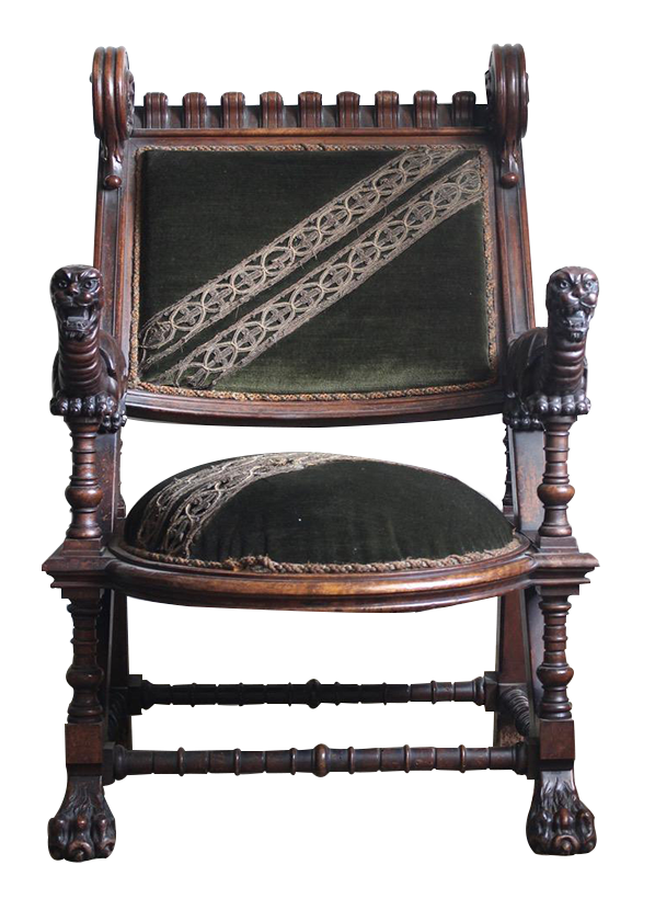 Outstanding & Rare Late C19th Spanish Armchair by Joan Busquets ( Barcelona )
