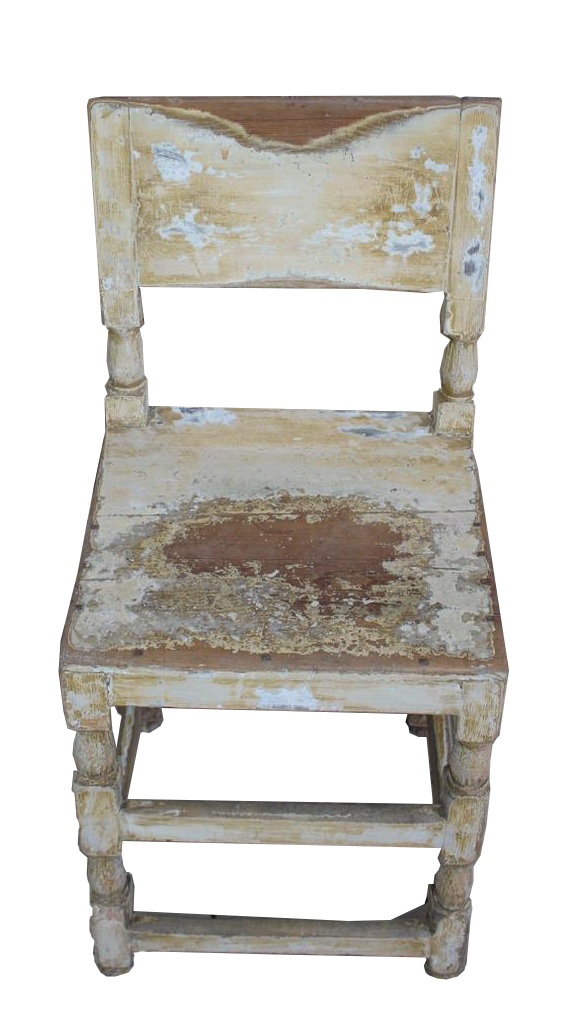 Set of 10, C19th Painted Swedish Dining Chairs