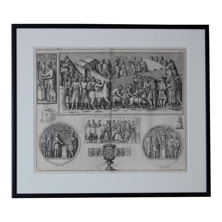 Set of Seven  19th century Engravings