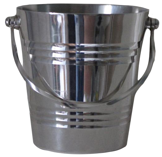 Small 1950s Silver Plated Ice Bucket