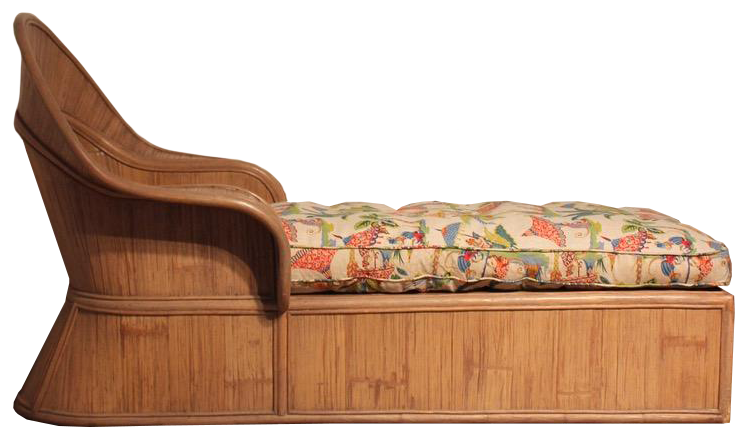 Stylish Mid 20th Cent Bamboo Daybed