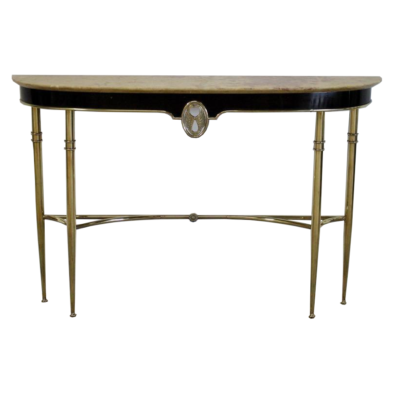 Stylish Pair of 1950s Italian Console Tables