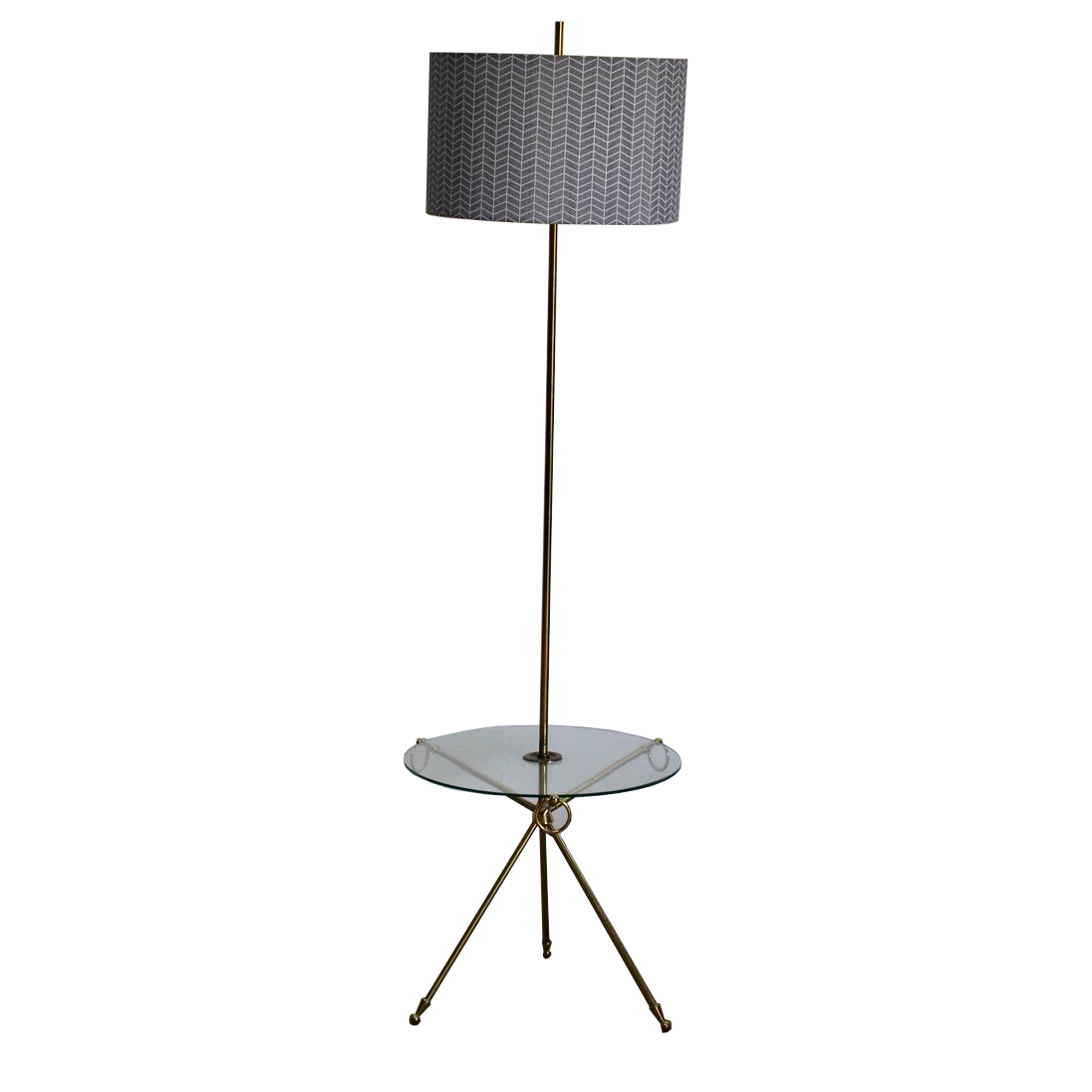 Stylish Pair of 1950s Italian Standing Lights