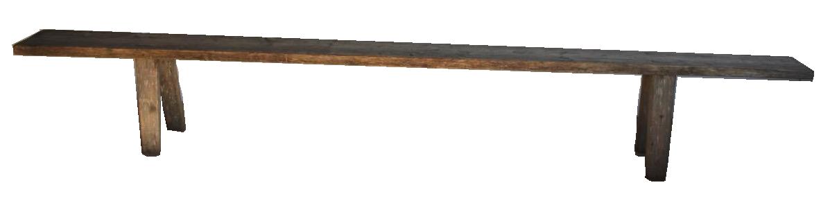 Very Large 19th century Swedish Bench
