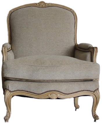 Pair of Mid 20th Cent Louis XV Revival Painted Armchairs