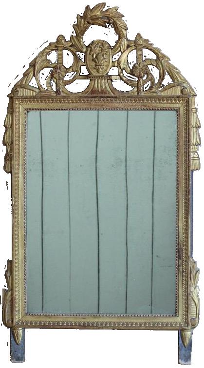 18th Century French Louis XV Mirror