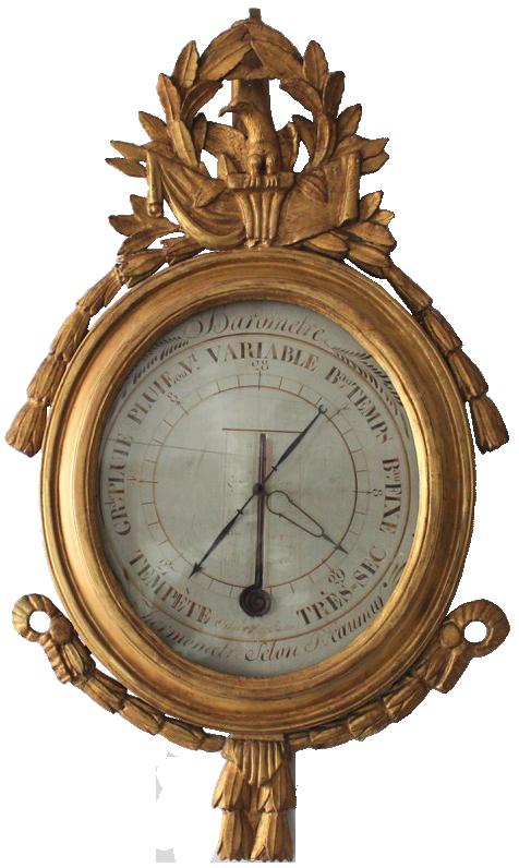 18th Century French Louis XVI Barometer