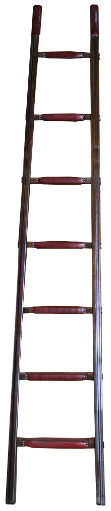 1960s Spanish Library Ladder by Valenti