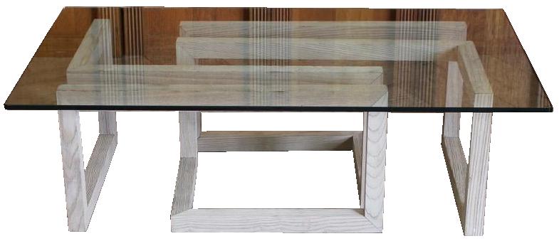 1970s Oak Coffee Table