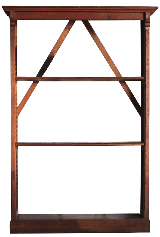 19th Cent Pair of English Bookcases from Ampleforth Estate