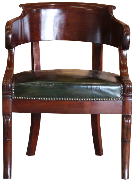 19th Cent French Louis Phillip Desk Chair