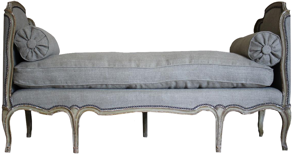 19th Century French Painted Daybed