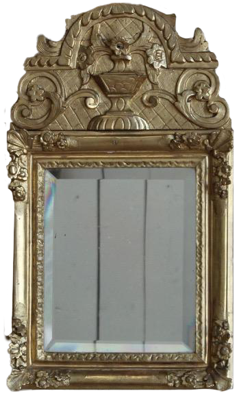 Charming Régence Period Small French Mirror