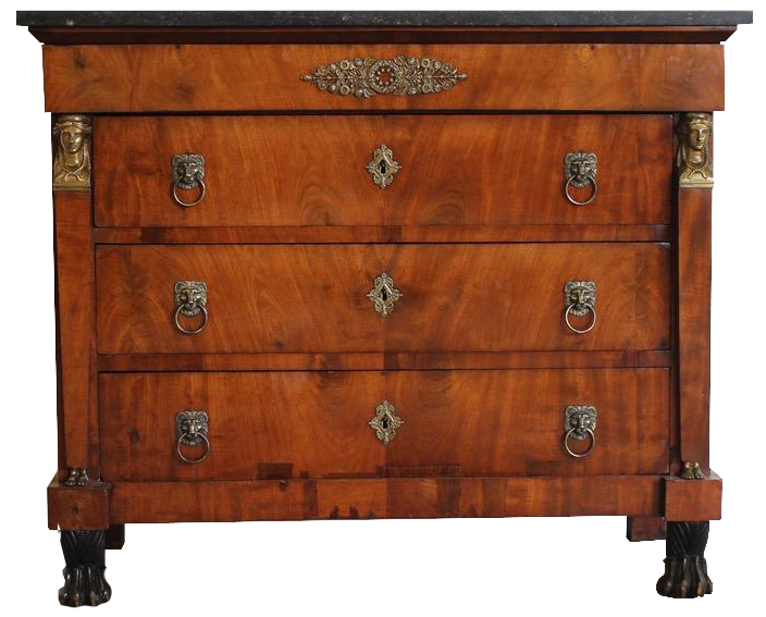 Early 19th Cent French Empire Commode