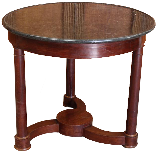 Early C19th French  Restoration Period Marble top Gueridon