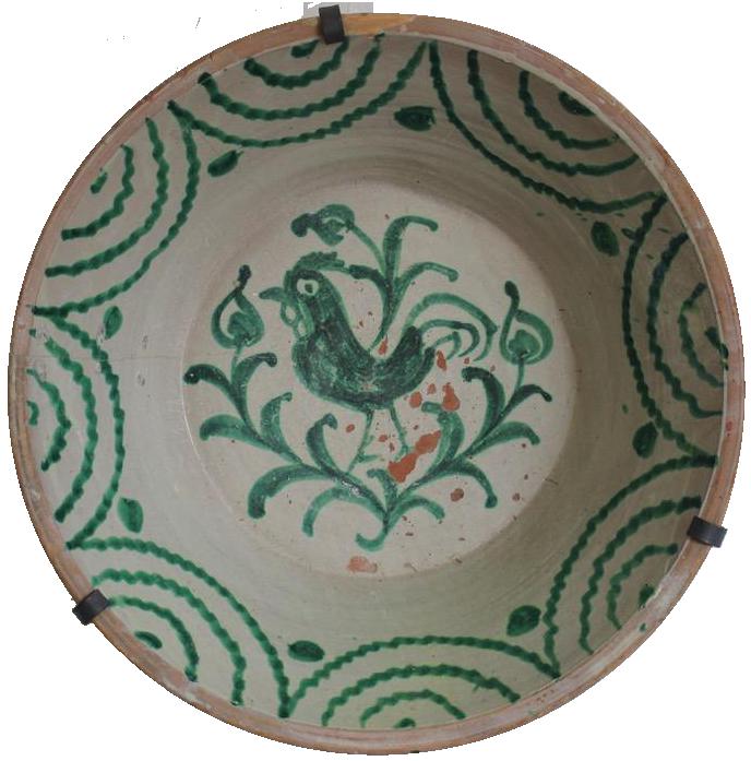 Large 19th century Fajalauza Lebrillo