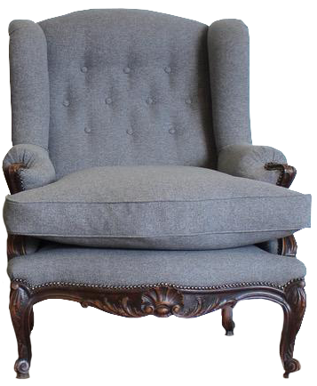 Large pair of Early 20th cent French Armchairs in the C18th Taste