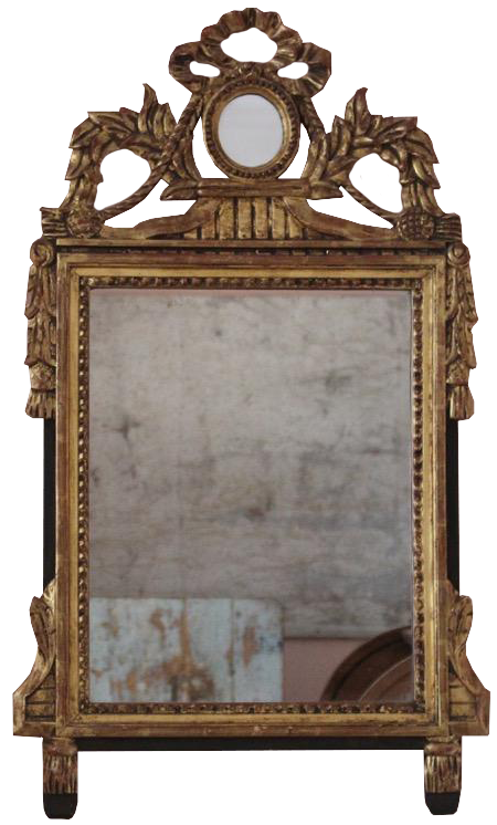 Late 18th/ early 19th Century French Gilded Mirror