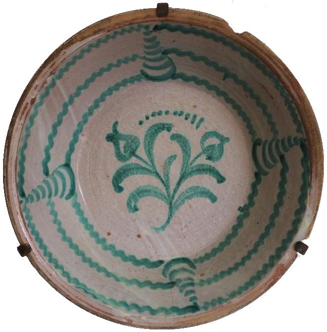 Late 19th century Fajalauza Lebrillo