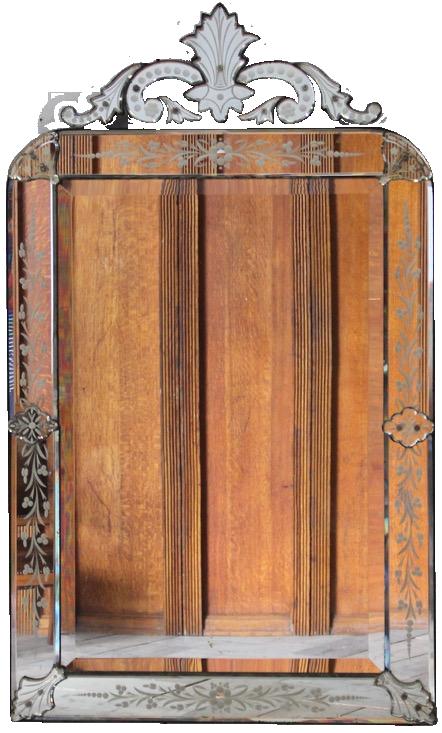 Late 19th Century Venetian Mirror