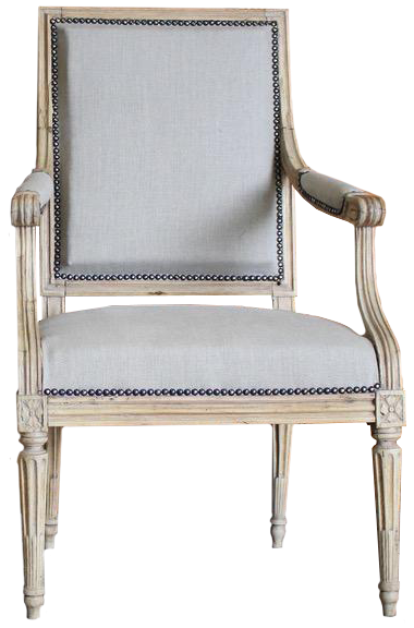 Pair of 18th century French Beech Fauteuils