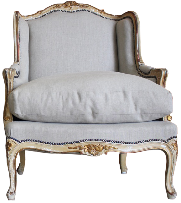 Pair of 1920s French Painted Armchairs in the Louis XVI Taste