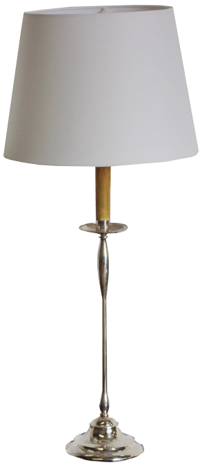 Pair of 1960s Spanish Silver Plated Table Lamps