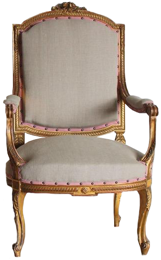 Pair of 19th Century French Gilded Fauteuils