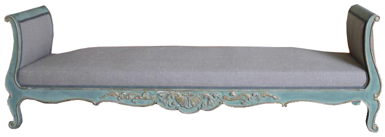 Pair of Circa 1900 French Painted Daybeds