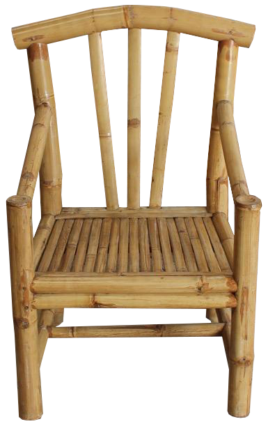 Set of Eight French Bamboo Armchairs Circa 1970s/80s