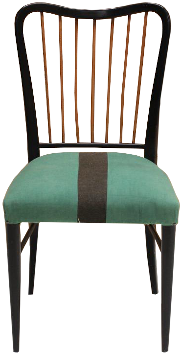 Wonderful Set of 1940s Italian Chairs