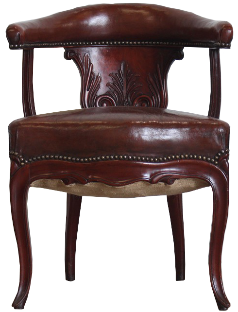 19th century French Desk Chair in the Empire Taste