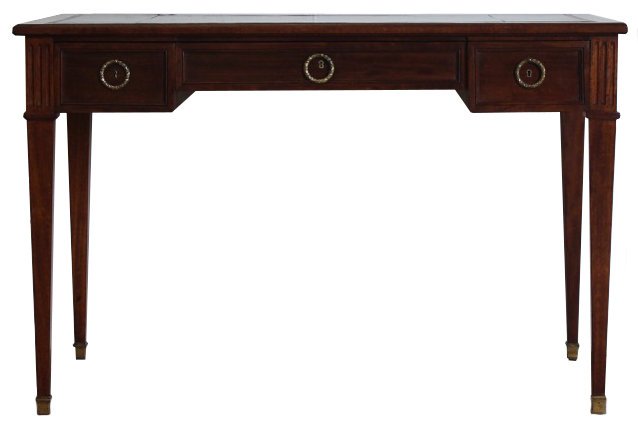 Early 20th Cent French Bureau Plat / Desk