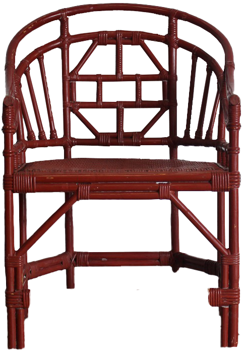 Good Set of Eight Early 20th Cent English Bamboo Conservatory Chairs